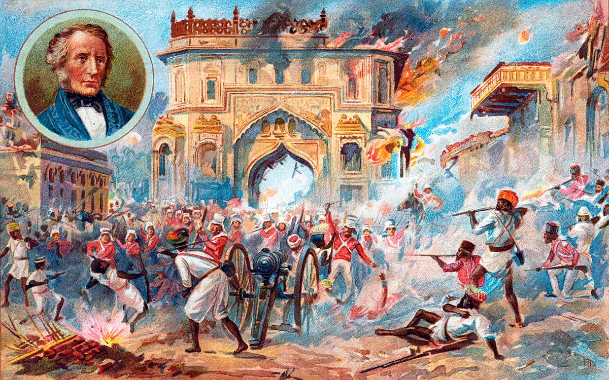 The Retreat of Lucknow
