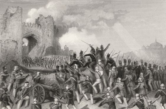 1857: Fall of Delhi